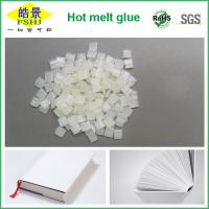 China White EVA Based Hot Melt Adhesive Spine Bookbinding , Hot Glue Pellets on sale