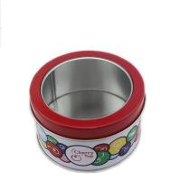 Quality custom design prited round box with window for packing wholesale