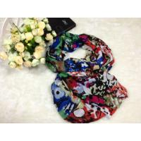 Quality Customized Fashoin Long Printing Voile Scarves For Women wholesale