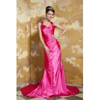 Quality Cheap Halter Sweetheart Mermaid Womens Party Dresses New Designer Party Dresses Hot Pink wholesale