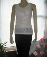China Selling Fashion Female Sequin Vest on sale