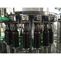 Quality Drinking Water / Beverage Filling Equipment , 3 In 1 Glass Bottle / Can Filling Machine wholesale