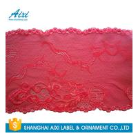 Cheap Stretch Lace Nylon Embroidery Lace Fabric Spandex Lycra Lace Fabric for sale