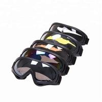 China Anti Fog Motocross Goggles , Windproof Motorcycle Glasses For Racing on sale