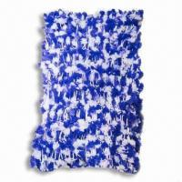 China Nylon Hand-knitted Scarf, Measures 140 x 18cm Size on sale