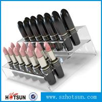 Quality Promotional Acrylic Comestic Store Lipstick Display Stand wholesale