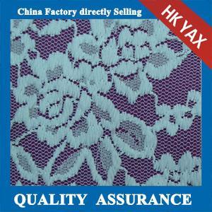 Quality YAX China supplier wholesale YX2765 Chinashow White organic cotton lace fabric,fashion organic cotton lace fabric wholesale