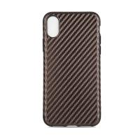 Quality Tpu Soft Customized Back Cover Case For Iphone X Iphone10 , Carbon Pattern Protective wholesale