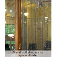Quality Architectural Wire Drapery, Metal Fabrics Dividers, Decorative Dividers wholesale