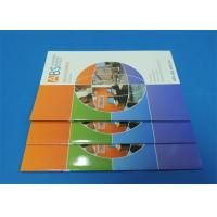 Quality Full Color Saddle Stitch Book Printing Service With Perfect Binding A6 wholesale