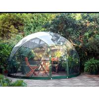 Quality Customized Waterproof Windproof Movable Geodesic Dome Tent With Steel Frame wholesale