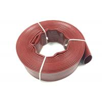 Quality Heavy Duty PVC Layflat Hose / Non Smell Flexible Irrigation PVC Lay Flat Water Discharge Pump Hose wholesale