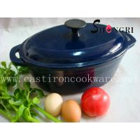 Cheap cast iron & enamel pot(SR071) for sale