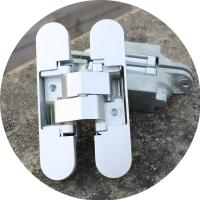 Buy cheap 3d concealed hinges Zamac invisible hinge from wholesalers