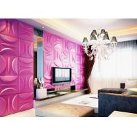 Quality Anti-Vibration Wall Background Modern 3D Wall Panels for Living Room / Bedroom Decoration wholesale