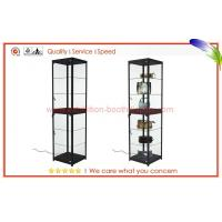 Quality Portable glass fronted display cabinets wholesale