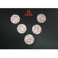 Cheap Biodegradable Fiber Desiccant , Round Shaped Moisture Absorbent Packs For for sale
