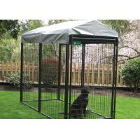 Quality Professional Grade Modular Dog Kennels , Outside Dog Kennels For Large Dogs wholesale