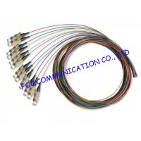 Quality 0.9mm LSZH Jacket 1.5M Multimode Pigtail LC Connector For CATV and WAN wholesale