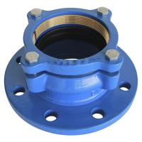China Lightweight Ductile Iron Pipe Joints Ductile Iron Flange Adaptor on sale