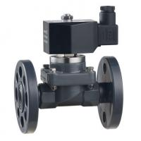 ZCF-P-F/H series 2-way flange and quick fitting anti-corrosive solenoid valve  DN15~40mm