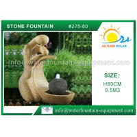 Quality Outdoor Cast Stone Garden Fountains Decorative High Grade Nontoxic Multi Style wholesale