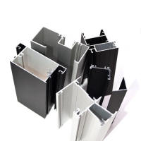 China Customized Anodized 6063 Aluminium Profiles For Windows And Doors on sale