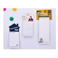 China To Do List, Magnetic Notepads for Fridge, Grocery Shopping, and Reminders, Custom Designs, 30 Sheets Per Memo Pad, for sale