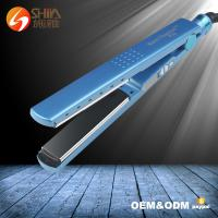 Quality pro nano titanium 1/4 inch private label 450 degrees flat iron babyliss hair straightener wholesale