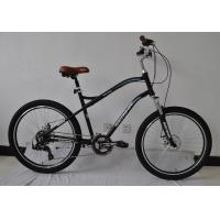 Quality Tianjin manufacturer 26 inch steel city bike/bIcycle/bicicle with Shimano 21 speed wholesale