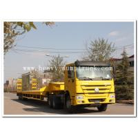 Buy cheap sinotruk howo 6x4 EUROII tractor truck / prime mover / tractor head long cabin yellow color product
