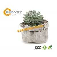Quality Waterproof Kraft Paper Packaging Bags For Potted Plant Flower wholesale