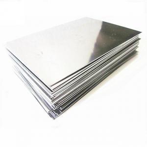 China Sliver GR12 Titanium Alloy Plate / Thin Titanium Sheet Low Density Good Ductility on sale