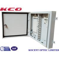 Quality KCO-ODB-72A 72 Port Fiber Optic Terminal Box 96 Fiber Wall Pole Mount Metallic Type wholesale