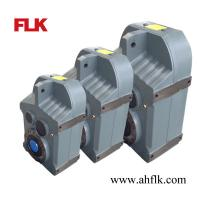 China F series small speed reducer transmission/shaft mounted gear box electric motor on sale