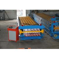 Quality Steel  Sheet Roll Forming Machine PPGI GI IBR Trapezoid , Roof Sheet Rolling Machines wholesale