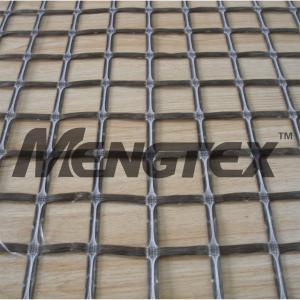 Quality Chemical stability Basalt Reinforcing Mesh Geogrid Asphalt Coated wholesale