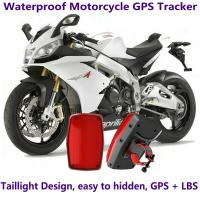 Quality GPS304 Waterproof Motorcycle GSM GPRS GPS Tracker LBS Locator 9~40V Support Alarm Siren wholesale