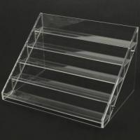 Quality 13 Years Factory Clear Acrylic Nail Polish Table Display Rack / Acrylic Nail Polish stand wholesale