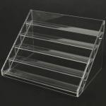 Quality 13 Years Factory Clear Acrylic Nail Polish Table Display Rack / Acrylic Nail Polish stand wholesale