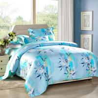 Quality Modern 4pcs Home Bedroom Bedding Sets 100 Percent Cotton Fabric Tancel Duvet Cover Sets wholesale