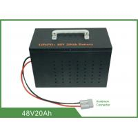 Quality Light Weight Deep Cycle Lithium Battery 48V 20Ah High Discharge Rate No Memory Effect wholesale