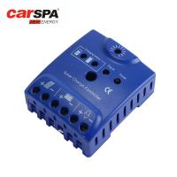 China PWM pulse width modulation 10A solar charger controller carspa simple version CD12/24-10 on sale
