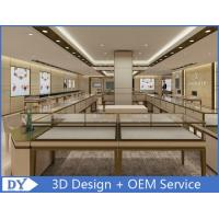 Quality OEM Modern Shop Showroom Jewellery Counter Display With Led wholesale