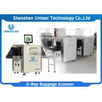 Quality Luggage Airport Security Baggage Scanner With Single View And High Steel Penetration wholesale