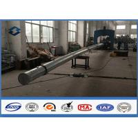 Load Test Polygonal Shape Electrical Power Transmission Pole 50FT ~ 80FT Size