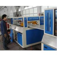 China 30mm TH WPC Board Production Line For Wood Powder , Waste Plastic on sale
