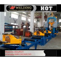Cheap Auto Combination Machine H Beam Welding Line With Assembly / Welding And Straightening for sale