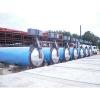 Quality Saturated Steam Wood Chemical Autoclave / Wood Block Machine , High Temperature wholesale