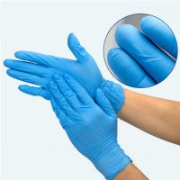 China Industry Grade 3.0g/3.5g/4.0g/4.5g/5.0g Disposable Nitrile Gloves powder -free or powdered on sale